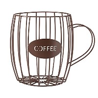 Coffee Cup Wire Basket by Miles Kimball