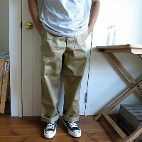 orslow オアスロウ VINTAGE FIT ARMY TROUSER(UNISEX) ヴィンテージフィット アーミートラウザー 03-V5361