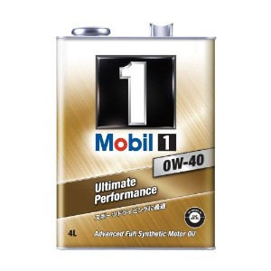Mobil [ モービル ] ガソリン・ディーゼルエンジン車用 [ Mobil 1 ] 4L [ 新規格 ] [ SN ] 0W-40 [ 化学合成油 ] Ultimate Performance[HTRC 3]