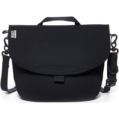 BUILT NY Bike Messenger Neoprene Lunch Bag, Black by Built NY