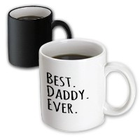 3dローズInspirationzStoreタイポグラフィ – Best Daddy Ever – ギフトの父 – Dads – Good For Fathers Day – ブラックテキスト –...