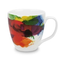 Konitz on Color Mugs, Set of 4 by Konitz
