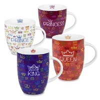 Konitz Royal Family Mugs, Set of 4 by Konitz
