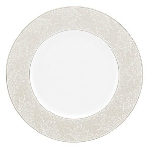 Lenox Larkspur Dinner Plate, White by Lenox