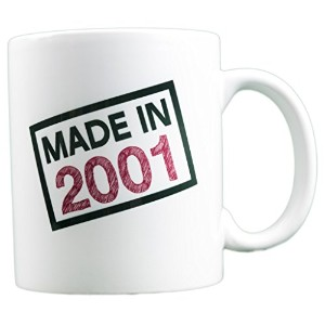 evermug Made in 2001 – 16誕生日ギフトMug 11 oz.