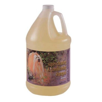 #1 All Systems Super Cleaning and Conditioning Pet Shampoo, 1-Gallon by #1 All Systems