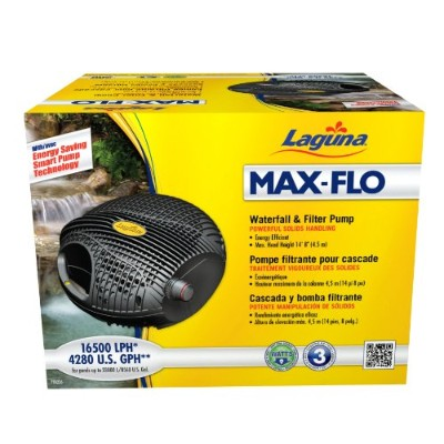 Laguna Max-Flo 4280 Electronic Waterfall and Filter Pump for Ponds Up to 8560-Gallon by Laguna