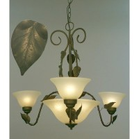 Classic Lighting 3173 V Vineland, Traditional, Chandelier, Verde by Classic Lighting
