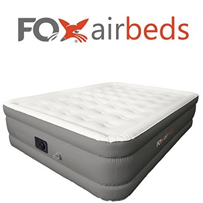 Best Inflatable Bed By Fox Airbeds エアーベッドキット(クイーンサイズ) Fox Air Beds社 Gray【並行輸入】