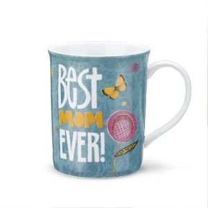 Demdaco Best Mom Mug And Greetingカード、マルチカラー
