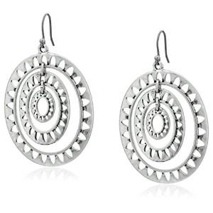 Lucky Brand Openwork Orbital Earrings