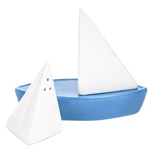 KIKKERLAND Sail Away Salt & Pepper Shakers セイルアウェイソルトアンドペッパーシェイカーズ SP21
