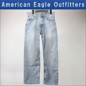 【40%OFFセール 2/16 10:00~2/20 9:59】 アメリカンイーグル AMERICAN EAGLE 正規品 スリムストレートジーンズ Low Loose Jean 0112-2672