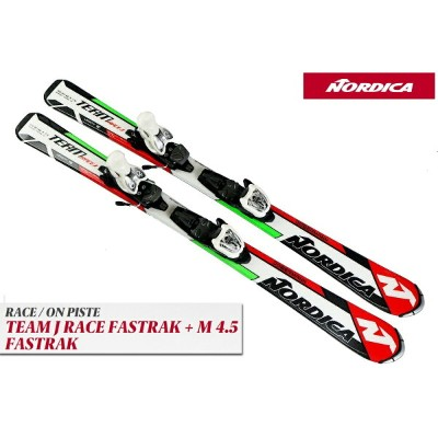 17ノルディカNORDICA「TEAM J RACE FASTRAK」+金具M4.5 FASTRAK