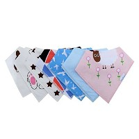 Moly Baby Bandana Drool Bibs,for Boys and Girls by Moly Baby
