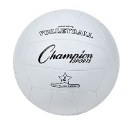 Rubber Sports Ball, For Volleyball, Official Size, White (並行輸入品)