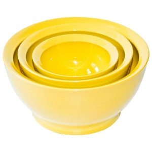 CaliBowl究極Mixing Bowls withノンスリップベース、3のセット各種サイズ( 1–20オンス、1–40oz、1–95oz ) one 20oz bowl, one...