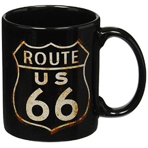 Rusted Route 66 Mug by Retro Planet