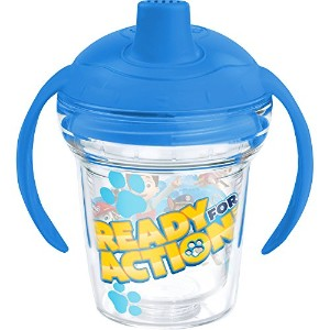 Tervis Nickelodeon Paw Patrol Sippy Cup with Blue Lid, 6 oz, Clear by Tervis