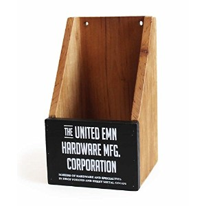 THE UNITED EMN ウッドミニボックス WOOD MINI BOX(BLACK) 700030-1