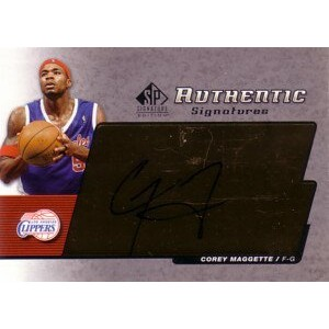 【コーリー マゲッティ】2004/05 SP Signature Edition Signatures/ Corey Maggette