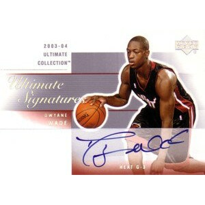 【ドウェイン ウェイド】NBA 2003/04 Ultimate Collection Ultimate Signatures / Dwyane Wade