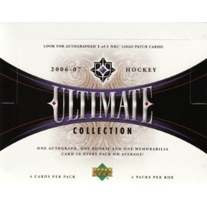 NHL 2006/07 UD ULTIMATE COLLECTION