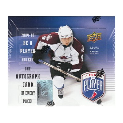 【NHLカード】 NHL 09/10 UD Be A Player パック ★5/26入荷!