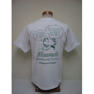 BuzzRickson's[バズリクソンズ] Tシャツ AIRESEARCH MFG.CO.(WHITE)