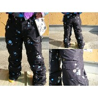 10 SPECIAL BLEND SNOWBOARD WEAR JUSTICE PANT(WOMENS INSULATED) BLACKOUT POPAKAMI 【M】【smtb-f】