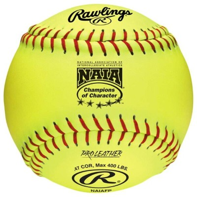 ローリングス レディース 野球 ボール【Rawlings NAIAFP Official NAIA Fastpitch Softball】