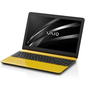 VAIO 15.5型ノートパソコン VAIO C15イエロー/ブラック(Office Home&Business Premium) VJC15190411Y