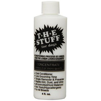 The Stuff Dog 15 to 1 Concentrate Conditioner Bottle, 4 oz by The Stuff