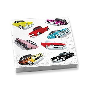 Epic Products Cars Beverage Napkins ( 20パック)