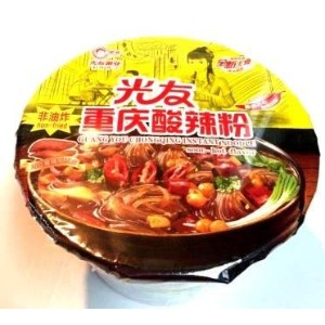 Guang You Chongqing Instant noodle sour hot flavor 即席春雨(酸辣味)90g
