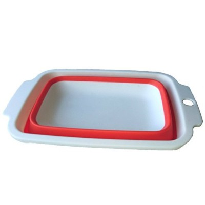 Shipao Collapsible Dish Tub Collapsible Bowl(34.2*22.7*10.5cm) by Shipao