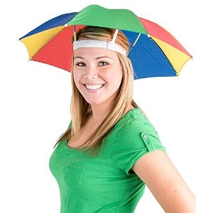(BlockBusterCostumes) Funny Umbrella Golf Fishing Costume Party Sun Shade Hat