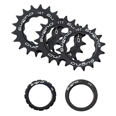 Sugino(スギノ) FIXIE COG SET BLACK