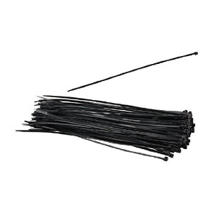 Nippon Labs CT-14S-BK 14-Inch Standard Cable Ties, Black 100-Pieces/Bag by Nippon Labs