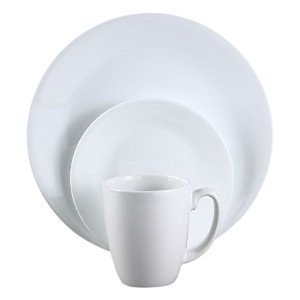 Corelle Livingware 16点ディナーウェアセット 4人用 12-piece (mugs not included) COR06370