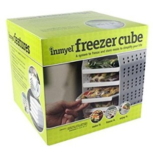 inmyel冷凍庫キューブ、システムをフリーズとストアHomemade Ready to heat-and-eat Meals in Zipper Closure Freezer Bags。