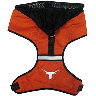 Texas Longhorns Pet Harness MD