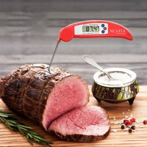 Nuvita Instant Read Digital Cooking Thermometer - Red by Nuvita