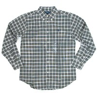 Ralph Lauren boy's l/s Check B.D.Shirts Navy/Green ラルフローレン ボーイズ シャツ