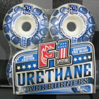 SKATE BOARD WHEEL【SPIT FIRE】F1 PARK BURNERS 54mm 【スケートボード ウィール】【スピットファイア】715005