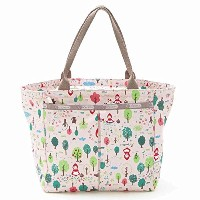 LeSportsac SMALL EVERYGIRL TOTE 7470 D938 WANDER IN THE FOREST スモール エブリガールトート レディース ハンド バッグ...