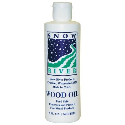 Snow River 8-Ounce Wood Oil by Snow River