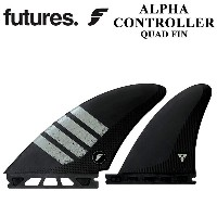 FUTURE FINS フューチャーフィン ALPHA CONTROLLER CARBON GREY QUAD 4FIN 4フィン