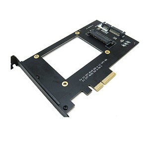 U.2 SFF-8639 NVMe SSD to PCI-e 4X Adapter (海外取寄せ品)