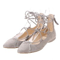 【SALE 87%OFF】NWSCHULL パンプス (GREY/SILVER) レディース
